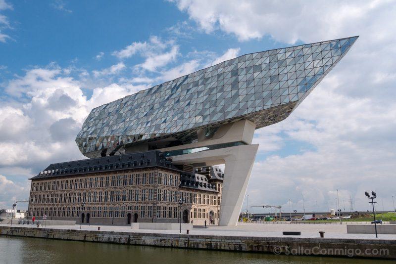 Arquitectura Contemporanea Zaha Hadid Autoridad Portuaria Amberes