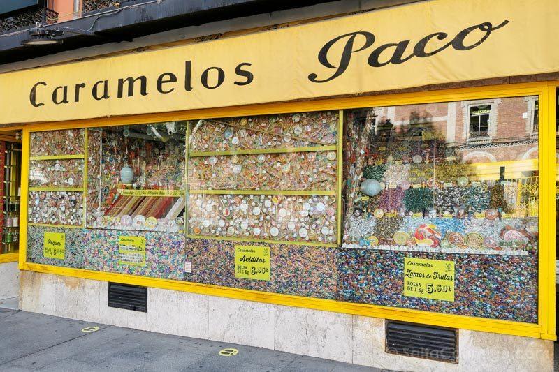 Barrio La Latina Calle Toledo Caramelos Paco