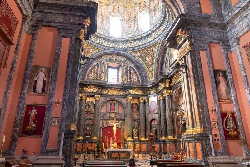 Barrio La Latina Iglesia San Andres Altar Mayor