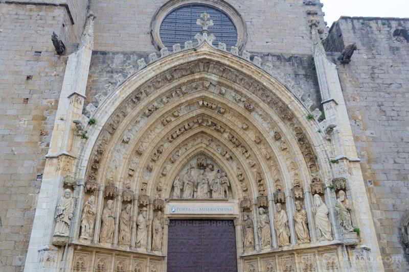 Basilica Santa Maria Castello Empuries Portada Misericordia