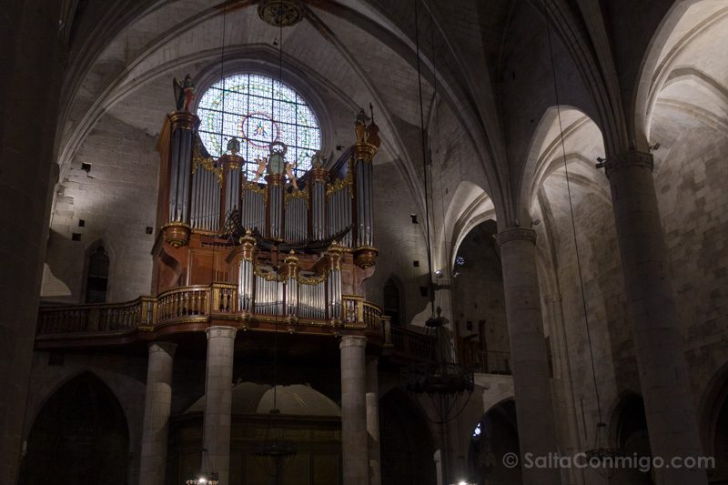 Basilica Santa Maria Castello Empuries Vidriera Organo