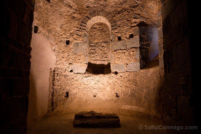Monasterio Sant Pere Rodes Iglesia Cripta