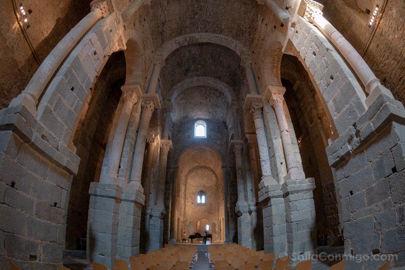 Monasterio Sant Pere Rodes Iglesia