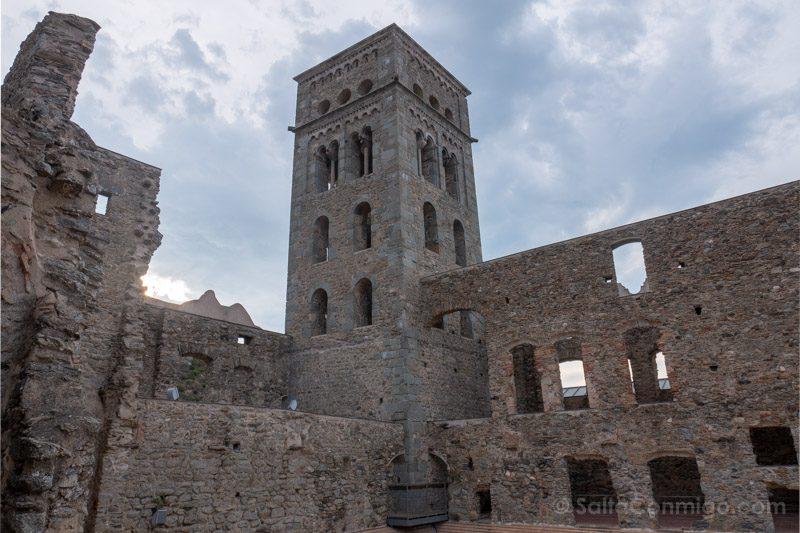 Monasterio Sant Pere Rodes Torre