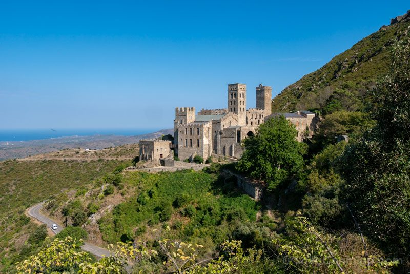 Monasterio Sant Pere Rodes Vista