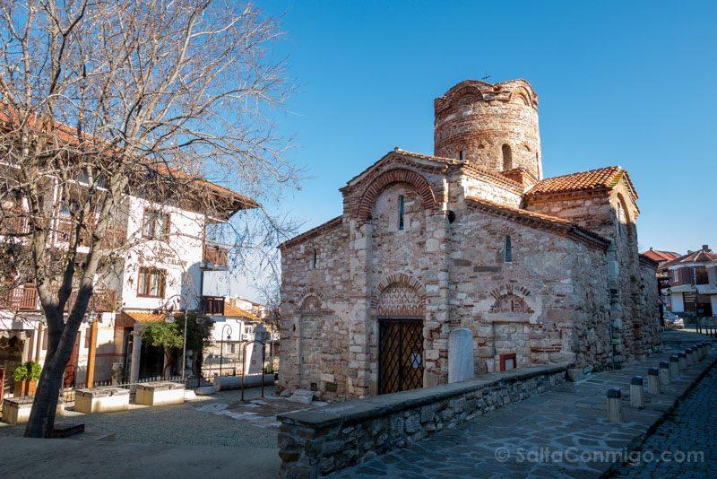 Que Ver En Nessebar Iglesia San Juan Bautista