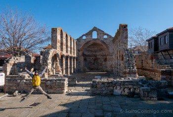Que Ver En Nessebar Iglesia Santa Sofia Salto