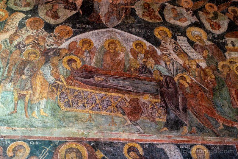 Que Ver En Nessebar Iglesia Sveti Stefan Frescos Virgen