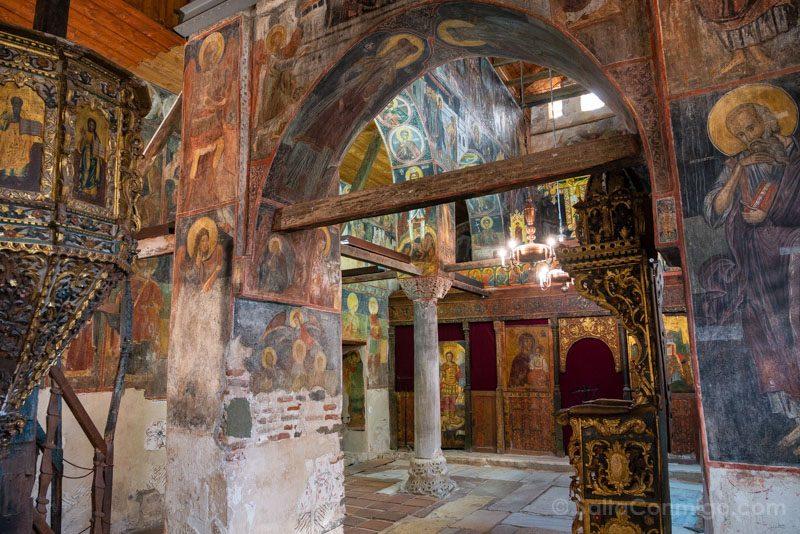 Que Ver En Nessebar Iglesia Sveti Stefan Frescos
