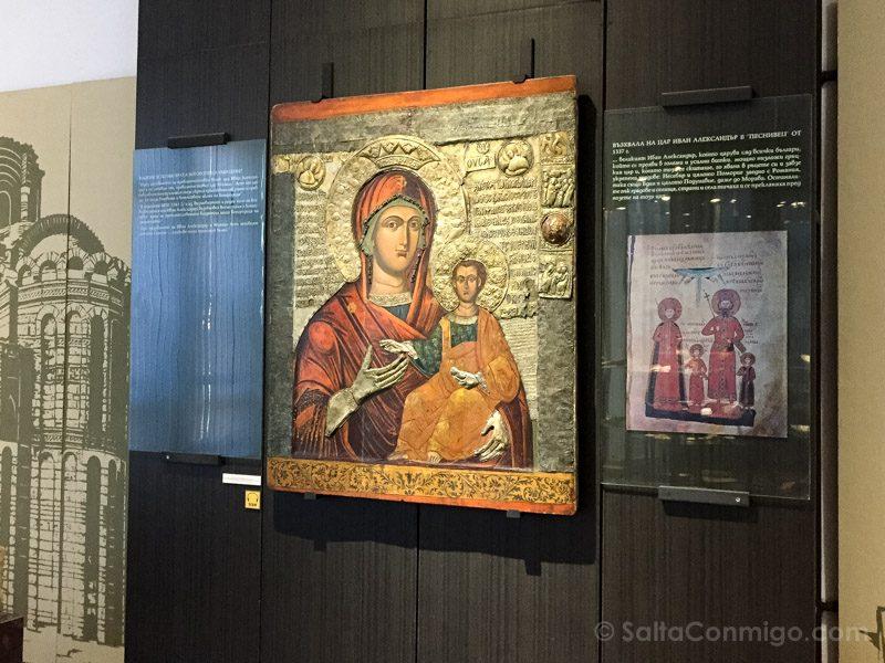 Que Ver En Nessebar Museo Arqueologico Icono Virgen Eleusa