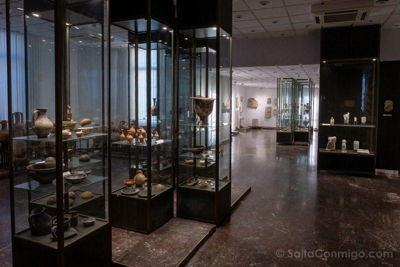 Que Ver En Nessebar Museo Arqueologico Vitrinas