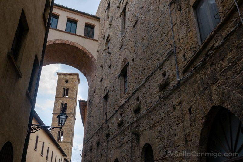 Que Ver En Volterra Toscana Arco Casa Torre Buonparenti