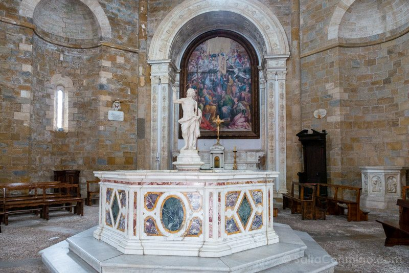 Que Ver En Volterra Toscana Baptisterio
