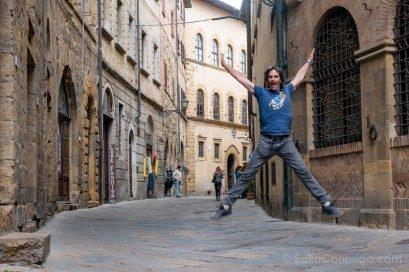 Que Ver En Volterra Toscana Calle Salto