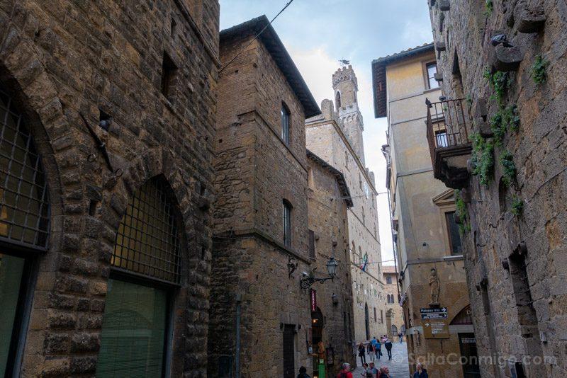 Que Ver En Volterra Toscana Camino Piazza Priori