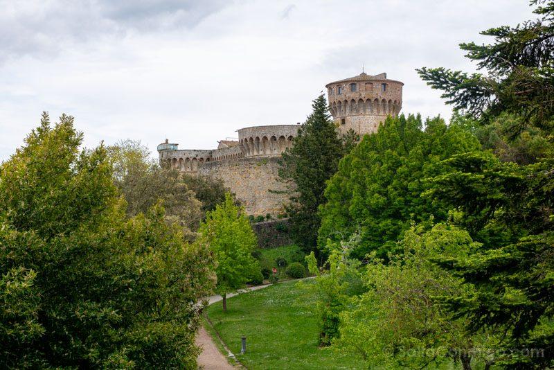 Que Ver En Volterra Toscana Fortezza Medicea