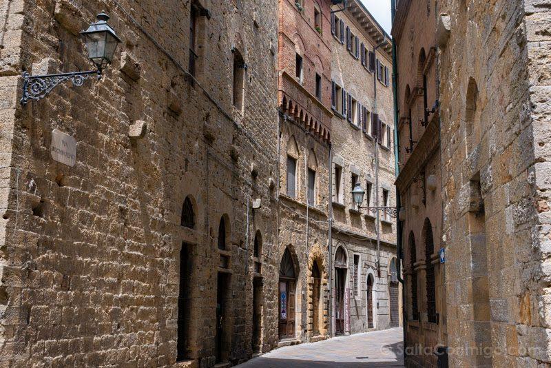 Que Ver En Volterra Toscana Via Buonparenti
