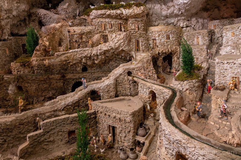 Belenes en Roma Presepe Netturbini Casas
