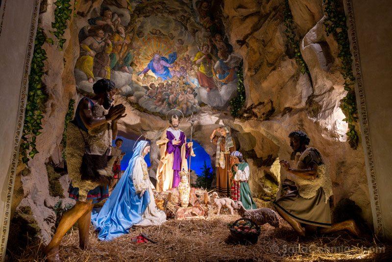 Belenes en Roma Santa Maria Aracoeli