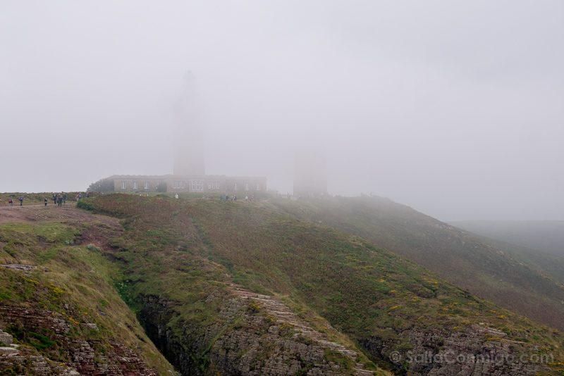 Cabo Frehel Bretana Faro Niebla