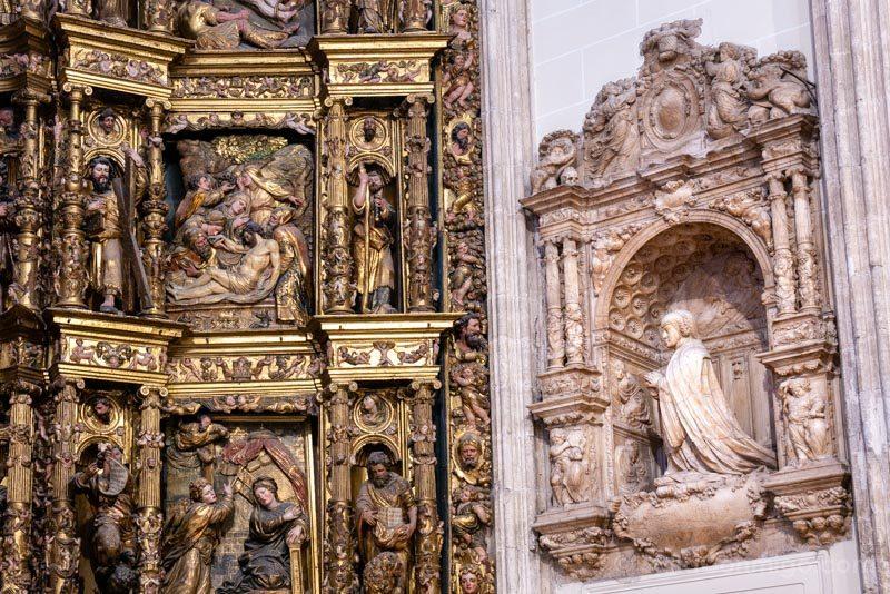 Capilla del Obispo Cenotafio Ines Carvajal