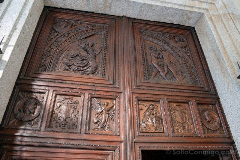 Capilla del Obispo Puerta Superior