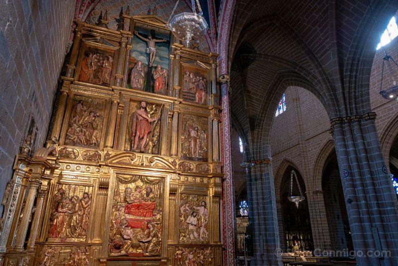Catedral de Pamplona Iglesia Interior Capilla San Juan Bautista