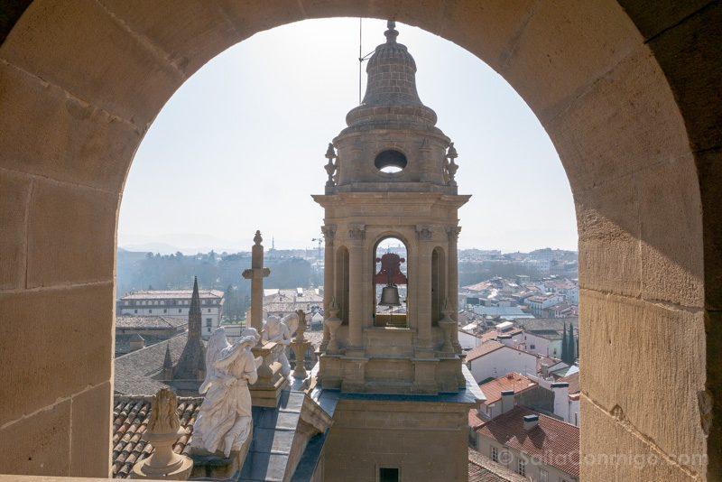 Catedral de Pamplona Iglesia Torre Vista