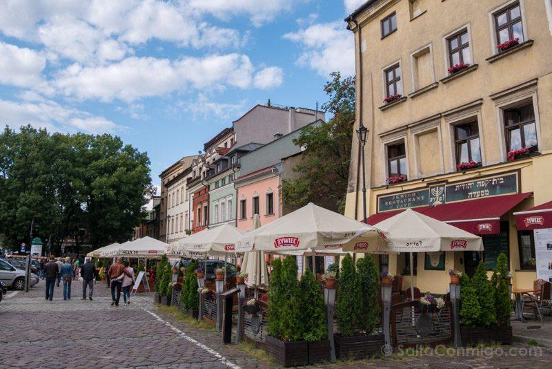 Consejos Viajar Cracovia Barrio Judio Kazimierz Calles