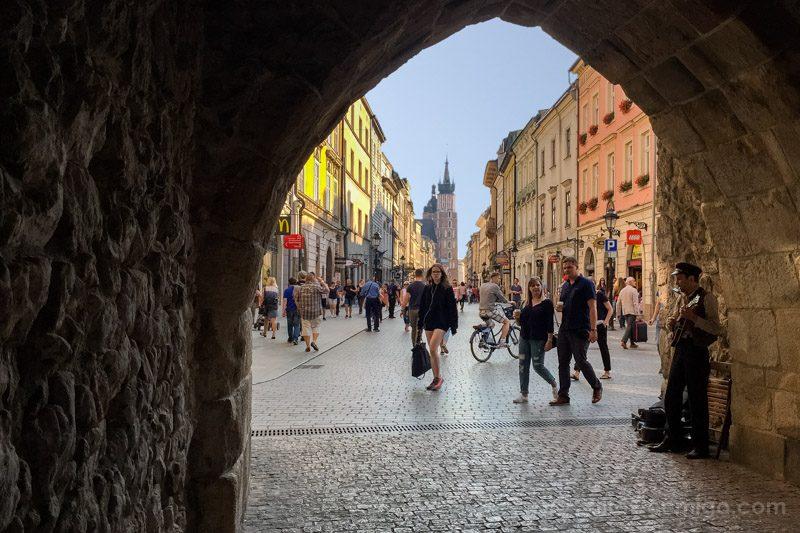 Consejos viajar Cracovia Puerta Muralla