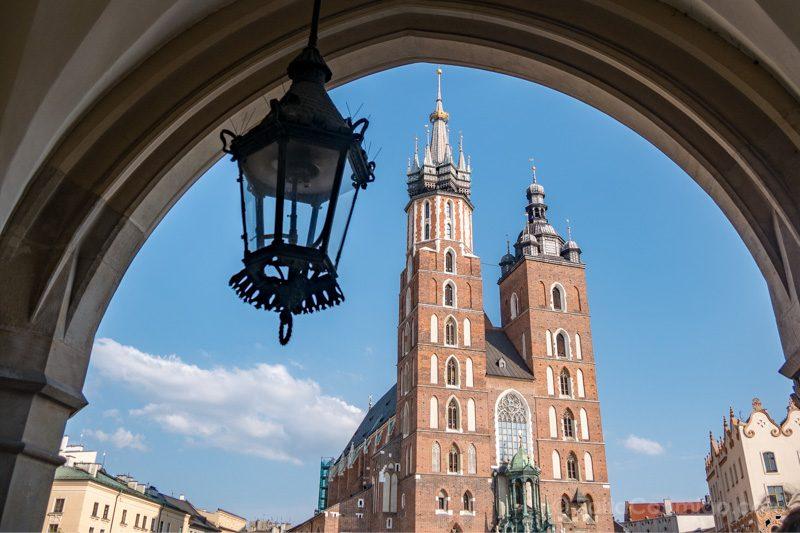 Consejos viajar Cracovia Torres Basilica Santa Maria