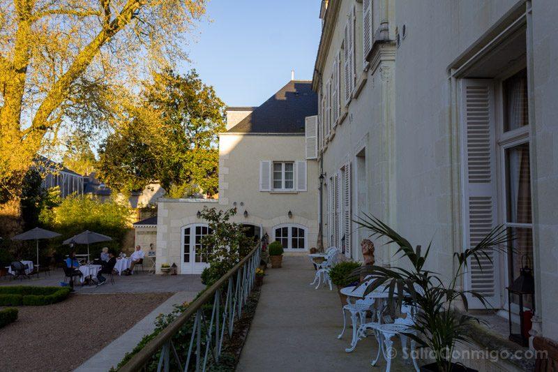 Dormir Valle Loira Le Clos Amboise Jardin