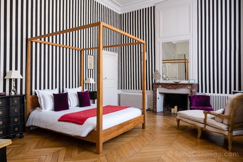 Dormir hoteles con encanto en el Valle del Loira Maison Ailleurs Habitacion