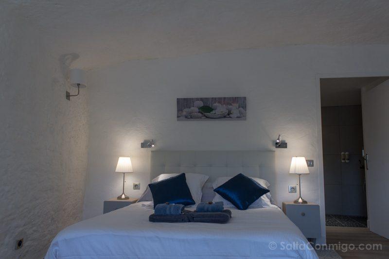 Hoteles en el Valle del Loira Troglododo Habitacion