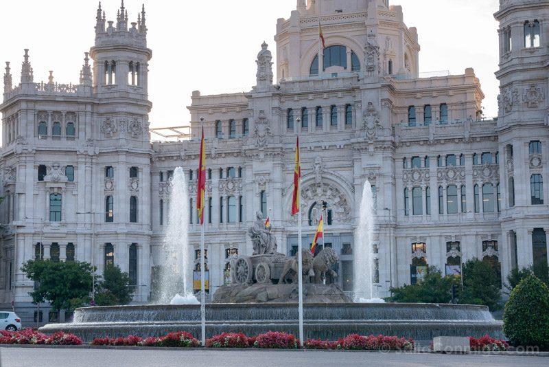 Fin de semana en Madrid Fuente Cibeles