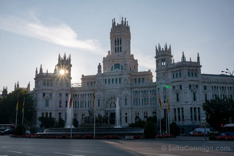 Fin de semana en Madrid Palacio Cibeles