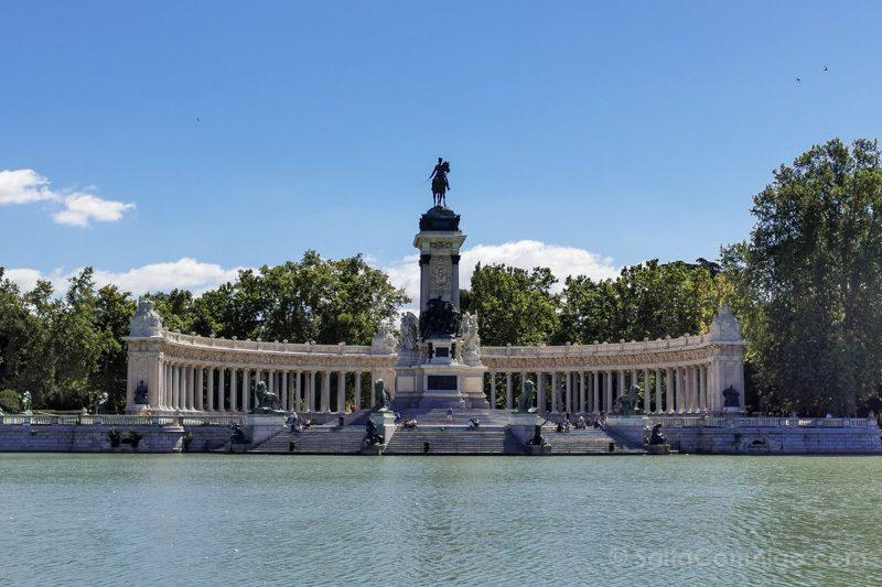 Fin de semana en Madrid Retiro Estanque