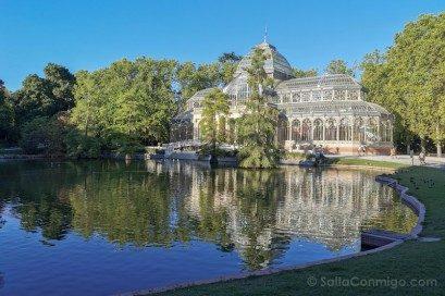 Fin de semana en Madrid Retiro Palacio Cristal