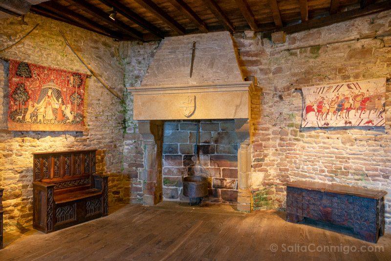 Fuerte La Latte Bretana Torre Interior