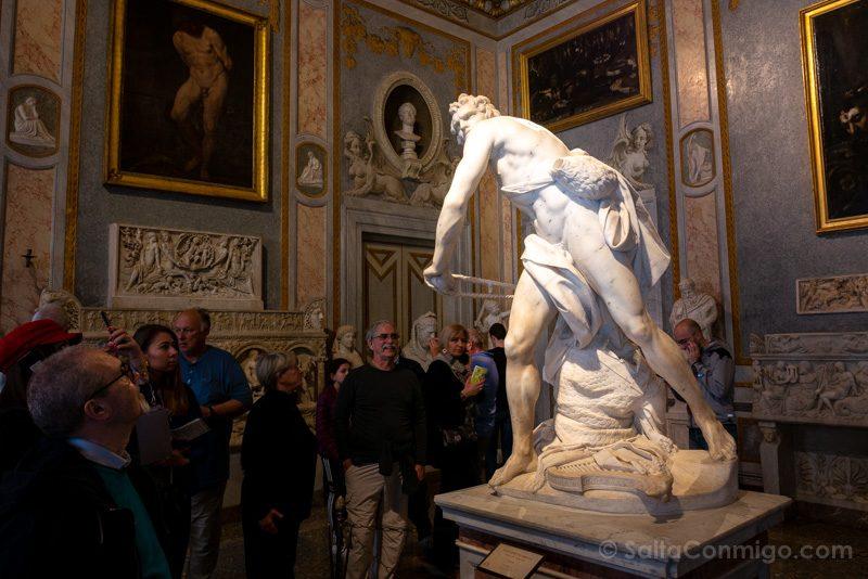 Galeria Borghese Bernini David Giro