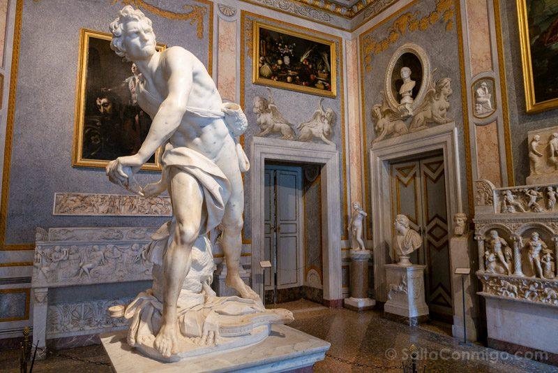Galeria Borghese Bernini David