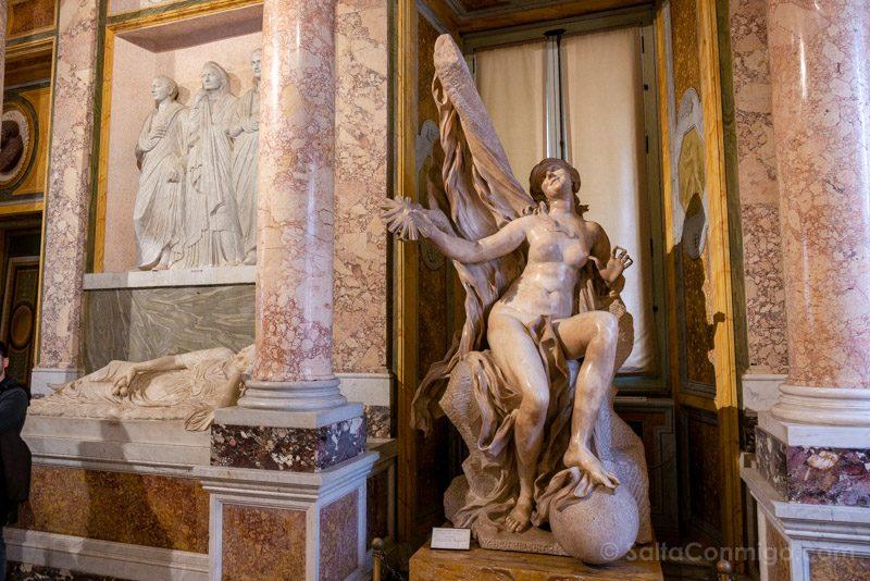 Galeria Borghese Bernini La Verita