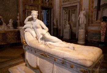 Galeria Borghese Bernini Venus Victrix