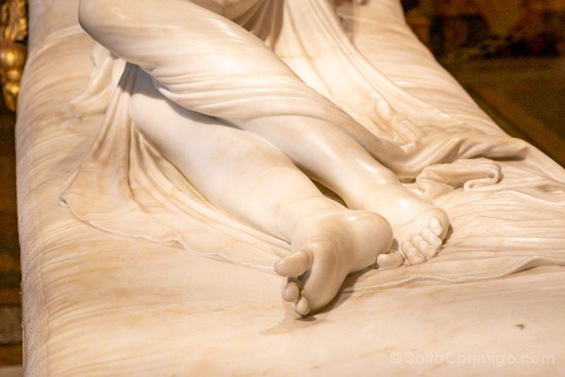 Galeria Borghese Bernini Venus Victrix Detalle Pies