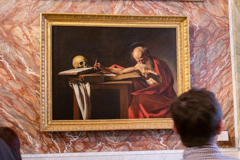 Galeria Borghese Caravaggio San Jeronimo