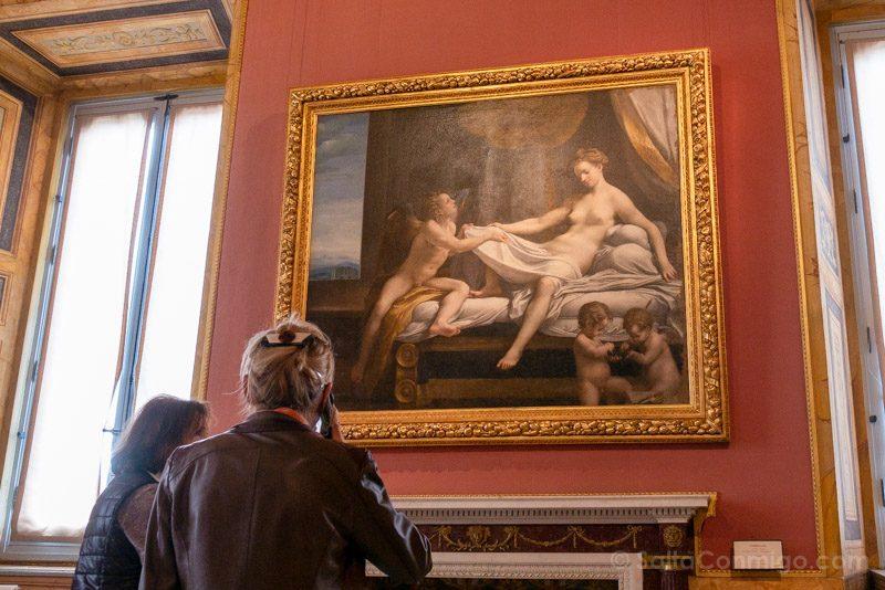 Galeria Borghese Correggio Danae