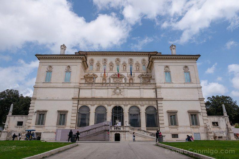 Galeria Borghese Exterior