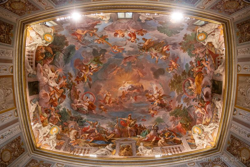 Galeria Borghese Fresco Techo Ojo Pez
