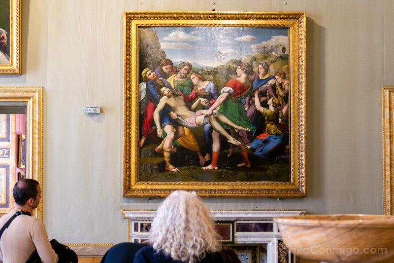 Galeria Borghese Rafael Deposicion Cristo