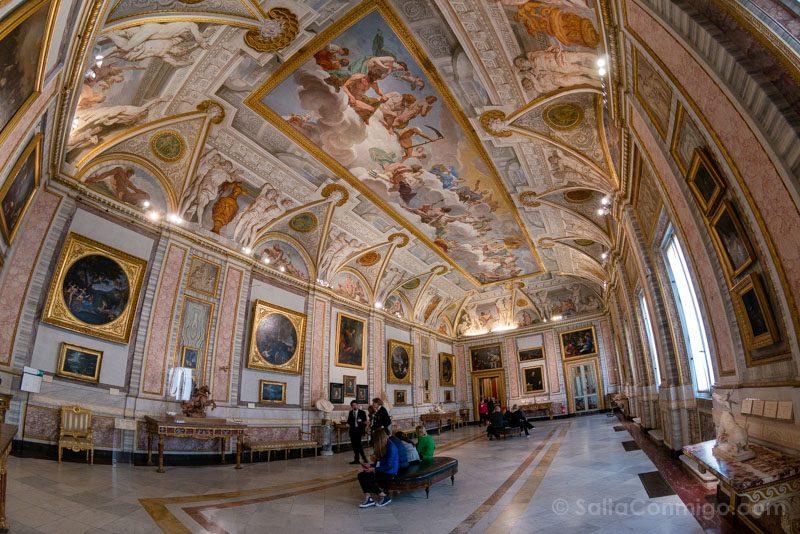 Galeria Borghese Sala Ojo Pez